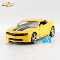 Wholesale RMZCity model car Diecast toy The simulation Chevrolet Camaro toys for children s gifts pull back educational limited