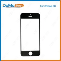 Wholesale For iPhone G c s Front Outer Glass Lens Screen Digitizer Touch Panel Screen Cover Black White