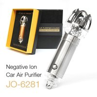 antiseptic gel - hot sale newest car air purifier to remove the smell of antiseptic wake up auto supplies miniature anion purifier QY
