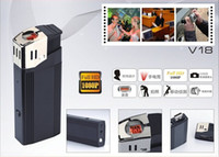 Wholesale Full HD P Spy Lighter Hidden Pinhole Camera HD lighter camera Mini DV DVR Digital Video Recorder Mini lighter Camcorder DV fps