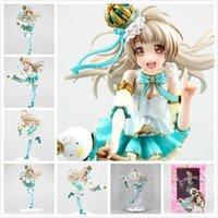 action love - Japan Anime Love Live School idol festival Pvc Action Figure Minami Kotori Scale snowman Ver cute figurine toys