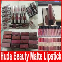 Wholesale in stock sale Huda Beauty Lip Contour Lip gloss Lipstick Makeup Lip Liner Matte Lip Stick Mixed Colors