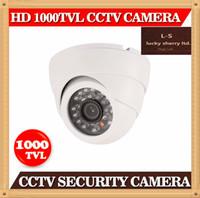 Caméra CIA-CMOS 1000TVL CCTV Avec IR-CUT intérieure CCTV extérieure DVR Securit caméra Night Vision 24 IR LEDS