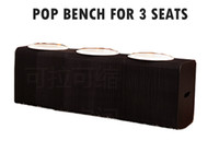 benches indoor - H42 xL150cm Innovation Furniture Pop Smart Bench Indoor Universal Waterproof Accordion Style Kraft Portable Chair for Seats Black