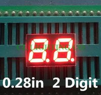 Wholesale 20pcs RED Seven Segment display Bit LED Digital TUBE inch Nixie tube Common Anode