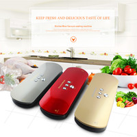 Wholesale Kitchen Boss vacuum sealer use for vacuum packer with vacuum bags for food Stored Keeps Fresh up to x Longer Golden V