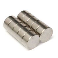 Wholesale 2015 New N50 Grade x5mm Strong Round Disc Cylinder Magnet Rare Earth Neodymium Magnets