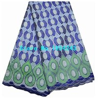 african fabric manufacturers - new manufacturer stone embroidery dry lace african swiss voile lace beauty nigeria cotton lace fabric for women AQ19n37