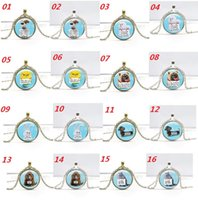 animal times - DHL Free The Secret Life of Pets Time Gemstone Pendant Necklace Cartoon Animal Pets Jewelry Valentine s Day Jewelry