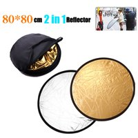Wholesale 80cm quot in1 Collapsible Studio Lighting Reflector Disc PSCR12