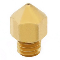 Wholesale 1Pc mm mm mm mm Copper Extruder Nozzle Print Head for Makerbot MK8 D Printer B00044 BAR