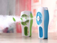 Wholesale Portable Handheld USB Mini Misting Fan Air Cleaning With Personal Cooling Humidifier Rechargeable Battery Different Model ML Home