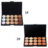 Wholesale 2016 Brand New Professional Colors Concealer Foundation Contour Face Cream Makeup Palette Pro Tool