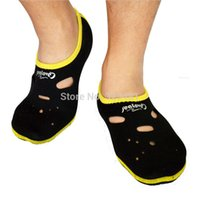 Wholesale Summer mm Neoprene SEALOVE Short Swimming Diving Socks Thick scuba snorkeling boots wetsuit S018