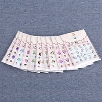beauty owl - 1 Set New Fashion Nail Sticker11 Styles Beauty Watermark Stickers D Cute Owl Nail Art Designs Styling Tools BLE2226