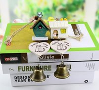 Wholesale Wind Chimes Outdoor Bells Hanging Decorations for a gift Bird House Resin wind chimes retro bells