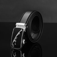Wholesale 2016 new HOT leather Belts Grid Pin Buckle Cowhide belts for men Genuine leather Men s belts underquote Famous Brand Good quality good price