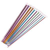afghan hook - mm Multicolour Aluminum TUNISIAN AFGHAN Crochet Hook Knitting Needles