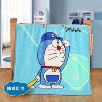 Wholesale DHL Cartoon Blanket Throw Soft Coral Fleece Cartoon Blanket Throw Different Patterns for Children Baby Adults
