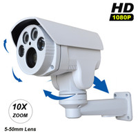 "Cheap 1 2.8"" SONY CMOS IMX322 +Hi3516 CCTV Security PTZ IP Camera HD 1080P 2MP 10X Motorized Auto Zoom 5-50mm Varifocal Lens IR 60M"