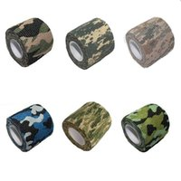 Wholesale Newest Riding Bike hunting camouflage tape Bicycle Self adhesive stretch woven fabric outdoor tape riding a bike sticker