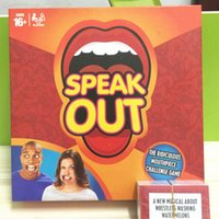 Wholesale Speak Out Mouthguard Challenge Game Mouthpiece Game Adult Phrase Card Game Expansion Pack Family And Party Fun Game