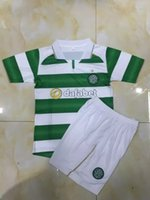 best celtics - New Celtic children soccer jerseys Best quality Glasgow celtic Soccer shirt celtics kids kit home Short sleeve