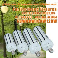 Wholesale High Lumen DLC LED Corn Light Bulbs W W W W W W W E27 E40 Garden Warehouse Parking Lighting Street Lamp