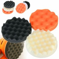 Wholesale Best Promotion Foam Buffing Pad Kit Waffle Mopheads Polishing mm x mm for Car polisher