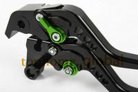 Wholesale CNC Clutch Brake Lever For Kawasaki Z800 E version Short Handlebar Brake Lug grips Black