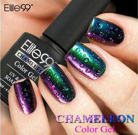 Wholesale Hot Elite99 ml D Colorful Phantom Nail Gel Polish Chameleon Gel Manicure UV Gel Color Polishes Need UV LED Lamp