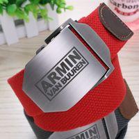 armin van buuren - 2016 New Top Fashion Belts Yaocok Armin Van Buuren Light Body Spot Embossing Rectangle Men Women Smooth Mouth Buckle Belt colors