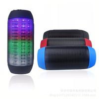 Wholesale jbl Pulse Y35 Wireless Bluetooth Speakers For JBL PULSE Portable Mini Speaker Streaming Colorful LED Lights Hifi TF Card Free DHL