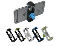 PVC adjustable mounting brackets - Width Adjustable Universal Car Air Vent Mobile Phone Mount Holder Stand Bracket For Iphone Samsung Mobile Phone