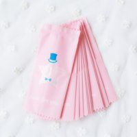 baby candy wrappers - 9x4CM Baby Pink DIY Handmade Nougat Candy Packaging Bag Milk Candy Taffy Wrapper Food Packing Mini Bga
