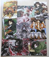 attack on titan poster - Attack on Titan Poster anime Posters x29cm High quality printing Embossed