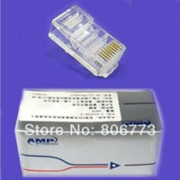amp networks - Hot seller AMP RJ45 RJ CAT5 Modular Plug Network Connector with the original box