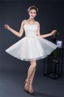 apple stocks price - A line Short prom Dresses V Neck Bow Sash Cheap Price Under Tulle Real Image In Stocks Dress