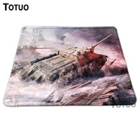 Wholesale Hot Low Tank Background DIY Printing Pattern Desktop Pad Silica gel Mousepads Optical Computer Mouse Pads Durable Speed Mats