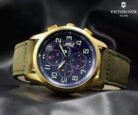 airforce watch - Lukeni Swiss mm Quartz Army Gold Case Airforce Sports Men s Watch