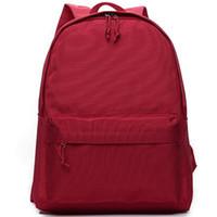 badminton bags sale - MUJI backpack Pure color packsack Young people school daypack Durable pack bag Nylon rucksack Hot sale day pack