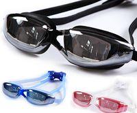 Wholesale Professional Adult Waterproof Anti Fog UV Protect Swim Glasses Swimming