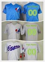 Wholesale MLB jerseys customized baseball Jerseys Montreal Expos drop shipping freeshipping