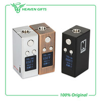 adjustable temperature - 2016 New Arrival Artery Nugget TC Box Mod Variable Wattage Temperature Control Box Mod With mAh Capacity Battery From Heavengifts