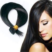 Cheap Pre Bonded Flat Tip Hair Best Remy Human Keratin Hair