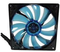 GELID ventilador silencioso de 14 cm de baja velocidad del perfil 14 Azul UV para la caja del ordenador