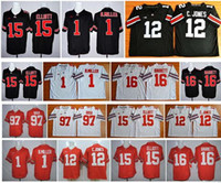 Wholesale 2016 New cheap Ohio State Buckeyes Braxton Miller Cardale Jones Ezekiel Elliott Joey Bosa Jersey JT Barrett College football jersey