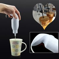 Wholesale 220v to V W Kitchen Hand Held Electric Food Mixer Handy Blender Egg Coffee Milk Milkshake Electric Frappe Mixer
