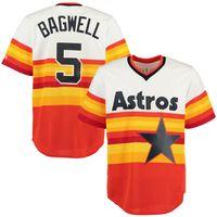 big jeff - cheap Men s Houston Astros Jeff Bagwell Majestic Orange Alternate Big Tall Cool Base Team Baseball Jersey