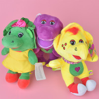 baby bop toys - 3pcs set quot cm Barney Friend Baby Bop BJ Plush Doll Stuffed Toy For Baby Gifts New